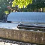 Couverture de la prise d'eau de Joinville