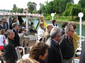 Reunion des élus sur la Marne 2011
