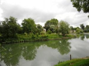 Ile de Gournay restaurée