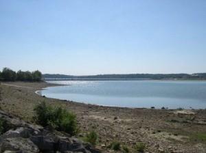 Lac du Der Chantecoq qui régule la Marne
